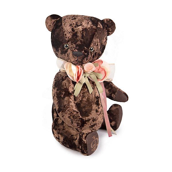 Budi Basa Мягкая игрушка Budi Basa Медведь БернАрт коричневый, 30 см magic bear toys мягкая игрушка медведь с заплатками в шарфе цвет коричневый 120 см