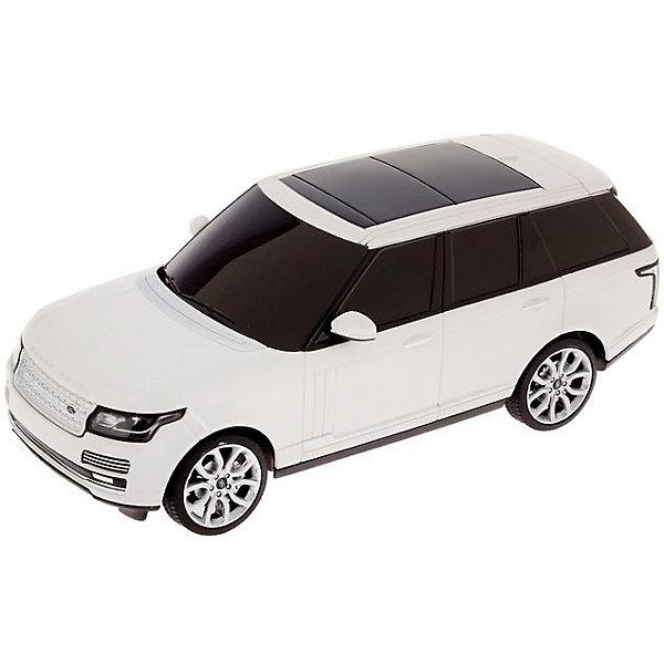 Радиоуправляемая машина Rastar Range Rover sport 2013 1:24, белаяРадиоуправляемые машины<br>Характеристики товара:<br><br>• серия: Land Rover;<br>• возраст: от 3 лет;<br>• цвет: белый;<br>• масштаб: 1:24;<br>В комплекте:<br>• машина; <br>• пульт дистанционного управления;<br>• инструкция;<br>• наличие батареек: не входят в комплект;<br>• тип батареек: 5 х AA / LR6 1.5V (пальчиковые);<br>• дальность действия: 15-30 м.;<br>• из чего сделана игрушка (состав): высококачественная пластмасса, металл;<br>• размер упаковки: 11х13х38 см;<br>• вес: 0,58 кг.;<br>• частота: 27 MHz;<br>• максимальная скорость: 12 км/ч.;<br>• упаковка: картонная коробка с блистером.<br><br>Все мальчишки в детстве мечтают о собственной большой и быстрой машине и масштабная радиоуправляемая модель автомобиля Range Rover Sport версии 2013 года позволит крохе стать на шаг ближе к своей мечте. Впрочем, с такой игрушкой играть будет не только детям, но и взрослым. Машинка способна двигаться со скоростью до 12 км/ч, а высокий радиус действия пульта дистанционного управления (до 30 метров) позволит вам уверенно чувствовать себя играя с машинкой на открытой местности. Высокую маневренность машины определяют 4-е направления движения — назад, вперед и в стороны.<br><br>Машину Range Rover sport 2013 1:24, на радио управлении, RASTAR можно купить в нашем интернет-магазине.<br>Ширина мм: 150; Глубина мм: 200; Высота мм: 300; Вес г: 580; Возраст от месяцев: 36; Возраст до месяцев: 2147483647; Пол: Унисекс; Возраст: Детский; SKU: 7320807;