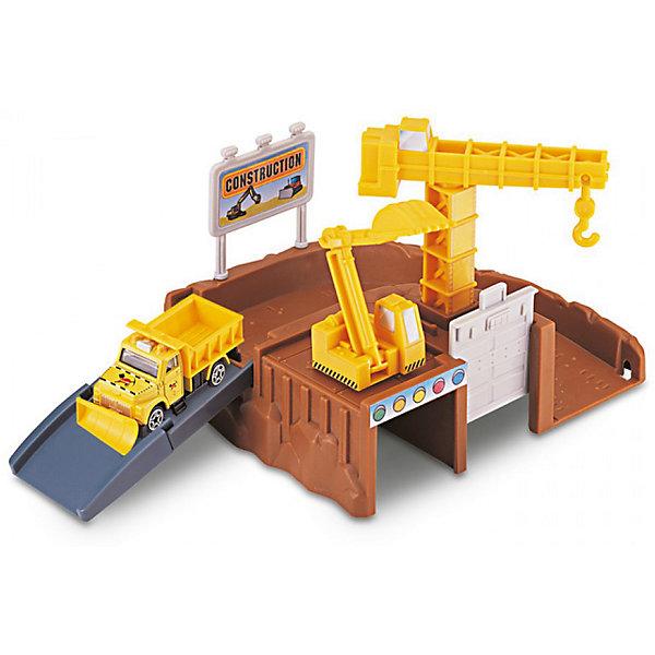 Игровой набор Autotime Megapolis Стройплощадка с машинойПарковки и гаражи<br>Характеристики:<br><br>• возраст: от 3 лет;<br>• тип игрушки:набор;<br>• материал: пластик, металл;<br>• размер: 15,5х21,6х6,4 см;<br>• вес: 361 гр;<br>• страна бренда: США;<br>• страна производитель: Китай;<br>• тип упаковки: коробка с окошком;<br>• бренд: Autogrand.<br><br>Набор транспортный Autogrand «MEGAPOLIS» стройплощадка с маш. 1:60 включает в себя здание из пластика и машинку в масштабе 1:60. Это новое поколение машинок, которые пришлись по вкусу мальчикам от трех лет и старше. С таким набором ребенок сможет разыгрывать увлекательные и захватывающие сюжеты. <br><br>Машина изготовлена из литого металла и пластмассы. Машинка сделана из безопасных материалов, разрешенных для детей. Так же красители, которыми окрашены все части автомобиля являются гипоаллергенными и не навредят здоровью ребенка. Игрушка прошла все необходимые проверки и получили все сертификаты качества.<br><br>Набор транспортный Autogrand «MEGAPOLIS» стройплощадка с маш. 1:60 можно купить в нашем интернет-магазине.<br>Ширина мм: 155; Глубина мм: 216; Высота мм: 64; Вес г: 361; Возраст от месяцев: 36; Возраст до месяцев: 2147483647; Пол: Мужской; Возраст: Детский; SKU: 7321067;