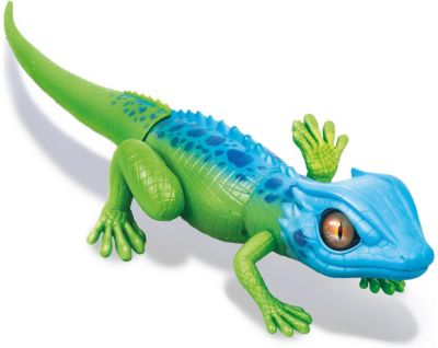 Интерактивная игрушка Zuru  Робо-ящерица , сине-зеленая (движение), артикул:7321842 - Интерактивные игрушки
