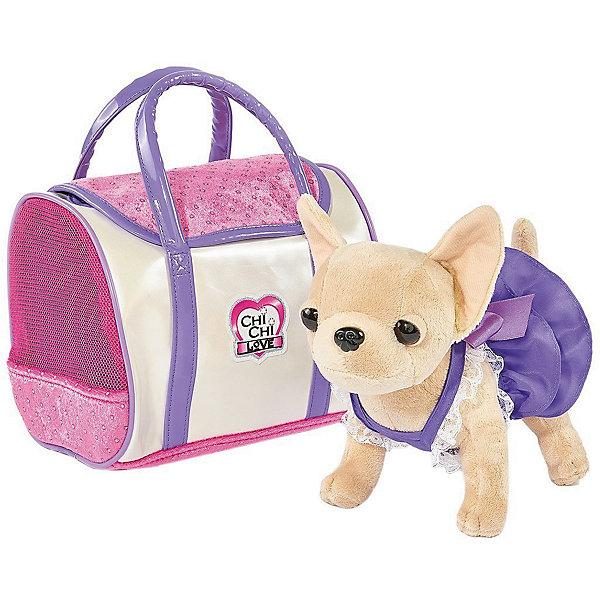 Simba Мягкая игрушка Simba Chi-Сhi Love Собачка Чихуахуа в платье с сумочкой, 20 см