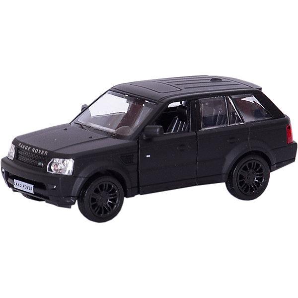 RMZ City Металлическая машинка RMZ City Range Rover Sport 1:32, черный матовый