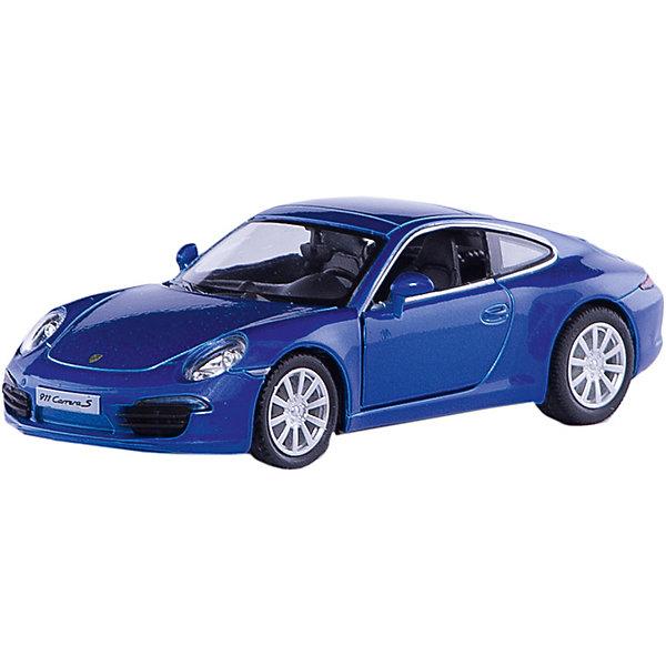 RMZ City Металлическая машинка RMZ City Porsche 911 Carrera S 1:32, синий металлик