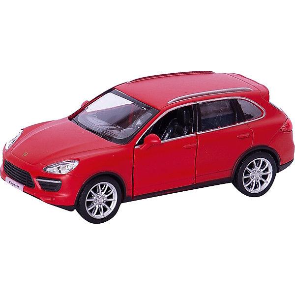 RMZ City Металлическая машинка RMZ City Porsche Cayenne Turbo 1:32, красный матовый машинки pit stop машинка porsche cayenne turbo красная 1 43 ps 444012 r