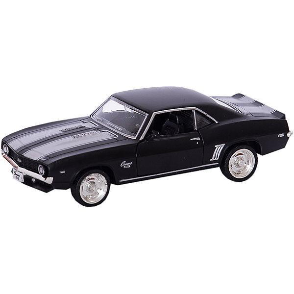 Металлическая машинка RMZ City Chevrolet Camaro 1969 1:32, серый матовыйМашинки<br>Характеристики:<br><br>• возраст: от 3 лет;<br>• тип игрушки: легковой транспорт;<br>• вес: 175 гр;<br>• масштаб: 1:32;<br>• цвет: серый;<br>• особенности: инерционная;<br>• материал: пластик, металл;<br>• размер: 16,5х7,5х7 см;<br>• тип упаковки: коробка с окошком;<br>• бренд: RMZ City<br><br>Машина металлическая RMZ City 1:32 Chevrolet Camaro 1969 станет отличным подарком для мальчиков от трех лет и старше. Такой набор включает в себя машинку серого матового цвета.  Упаковка сделана с окошком и подходит в качестве подарочной.<br><br>Особенность игрушки состоит в том, что машинка инерционная. Коллекционные машинки порадуют любителей автогонок, ведь из них можно собрать целый автопарк. Машина отлично развивает скорость на гладкой поверхности, если ее подтолкнуть, и в точности повторяет внешний вид настоящего автомобиля. <br><br>Машинка сделана из безопасных материалов. Так же красители, которыми окрашены все части автомобиля являются гипоаллергенными и не навредят здоровью ребенка. Игрушка прошла все необходимые проверки и получили все сертификаты качества.<br><br>Машину металлическую RMZ City 1:32 Chevrolet Camaro 1969можно купить в нашем интернет-магазине.<br>Ширина мм: 165; Глубина мм: 75; Высота мм: 70; Вес г: 175; Возраст от месяцев: 36; Возраст до месяцев: 120; Пол: Мужской; Возраст: Детский; SKU: 7322656;
