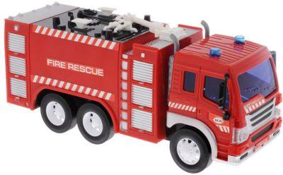 Пожарная машина Dave Toys  Junior Tracker  1:16, свет, звук, артикул:7322658 - Транспорт