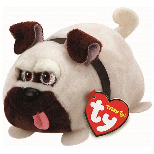 Ty Мягкая игрушка Ty Inc Тайная жизнь домашних животных Мопс Мел, 11 см мягкие игрушки ty beanie boos обезьянка coconut 40 см