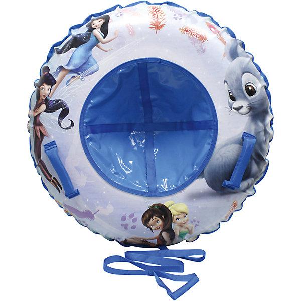 Фото - 1Toy Тюбинг 1Toy Disney Феи, 100 см 1toy 1toy тюбинг ватрушка disney феи 100 см