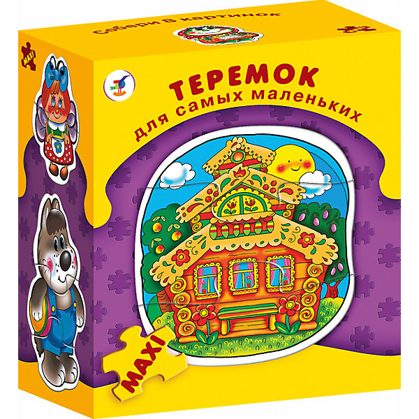 ДСМ.ТеремокПазлы для малышей<br>Характеристики:<br><br>• тип игрушки: настольная игра;<br>• комплектация: восемь персонажей;<br>• возраст: от 3 лет;<br>• размер: 15,5x18х8,5 см;<br>• издатель: Дрофа;<br>• упаковка: картонная коробка;<br>• материал: картон.<br><br>Игра «ДСМ. Теремок» совсем не сложная и в то же время очень увлекательная. В комплект игры входит восемь рамок с изображением разных животных из теремка, разделённых на части. Игра формирует навыки соединения деталей, развивает мелкую моторику рук и наглядно-образное мышление.<br><br>Для начала нужно показать ребенку, как сложить фигурки из нескольких частей. А затем пусть он попробует сделать это самостоятельно. Объясните, как можно собрать фигурку внутри рамки. Когда ребёнок научится собирать одну фигурку, предложите ему собрать сразу несколько. В результате дети научатся собирать фигурки, самостоятельно подбирая нужные детали. Фигурки состоят из двух-трёх элементов.<br><br>Игру «ДСМ. Теремок» можно купить в нашем интернет-магазине.<br>Ширина мм: 155; Глубина мм: 180; Высота мм: 85; Вес г: 180; Возраст от месяцев: 36; Возраст до месяцев: 2147483647; Пол: Унисекс; Возраст: Детский; SKU: 7323570;