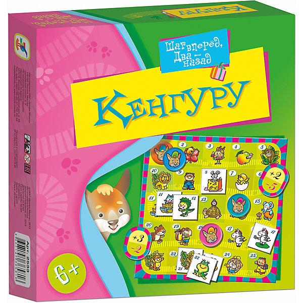 Игротека. КенгуруНастольные игры для всей семьи<br>Характеристики:<br><br>• тип игрушки: настольная игра;<br>• возраст: от 6 лет;<br>• комплектация: игровое поле, 49 карточек, правила;<br>• размер: 19x20х3 см;<br>• издатель: Дрофа;<br>• упаковка: картонная коробка;<br>• материал: картон.<br><br>Игра «Игротека. Кенгуру» разработана для детей от 6 лет. Весёлые кенгурята отправились в гости, но вот беда — они умеют перемещаться только большими прыжками и запросто могут проскочить мимо нужного домика. Цель игры - помочь кенгуру добраться до друзей, расположенных в разных частях игрового поля. При этом ребенок должен будет рассчитать различные варианты возможных комбинаций. Игра развивает навыки устного счёта и логическое мышление.<br><br>Игру «Игротека. Кенгуру» можно купить в нашем интернет-магазине.<br>Ширина мм: 190; Глубина мм: 200; Высота мм: 30; Вес г: 140; Возраст от месяцев: 72; Возраст до месяцев: 2147483647; Пол: Унисекс; Возраст: Детский; SKU: 7323586;