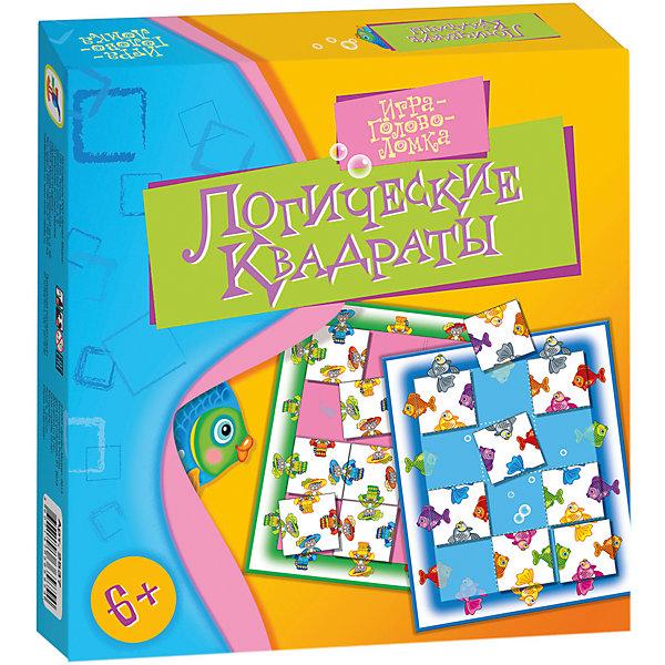 Игротека. Логические квадратыНастольные игры для всей семьи<br>Характеристики:<br><br>• тип игрушки: настольная игра;<br>• возраст: от 6 лет;<br>• комплектация: 2 игровых поля, 24 карточки, правила.;<br>• размер: 19x20х3 см;<br>• издатель: Дрофа;<br>• упаковка: картонная коробка;<br>• материал: картон.<br><br>Игра «Игротека. Логические квадраты» разработана для детей от 6 лет. Занимательная головоломка только на первый взгляд проста: поломать над ней голову будет интересно даже взрослому. Игра развивает мышление, наблюдательность, усидчивость.<br><br>Такая игра чем то похожа на пазл. Ребенку необходимо находить две части одного предмета или героя и правильно их сопоставить. Интересные задания в комбинации с яркими и четкими иллюстрациями понравятся и заинтересуют ребенка. Сами задания помогут развить мышление и логику, мотивируют соображать быстрее, что поможет ребенку на дальнейших занятиях в школе. <br><br>Игру «Игротека. Логические квадраты» можно купить в нашем интернет-магазине.<br>Ширина мм: 190; Глубина мм: 200; Высота мм: 30; Вес г: 155; Возраст от месяцев: 72; Возраст до месяцев: 2147483647; Пол: Унисекс; Возраст: Детский; SKU: 7323587;