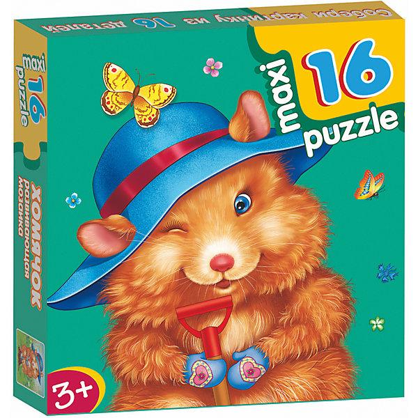 Развивающая мозаика. ХомячокПазлы для малышей<br>Характеристики:<br><br>• тип игрушки: настольная игра;<br>• комплектация: 16 деталей;                                                                <br>• возраст: от 3 лет;<br>• размер: 16,5x16,5х3 см;<br>• издатель: Дрофа;<br>• упаковка: картонная коробка;<br>• материал: картон.<br><br>Игра «Развивающая мозаика. Хомячок» разработана для детей от 3 лет. Крупные и яркие детали мозаики привлекут внимание даже самых маленьких детей. Собирая картинку из 16 частей, малыш учится соотносить отдельные элементы и целое изображение, подбирать фрагменты по цвету и форме. <br><br>Игра развивает наблюдательность, усидчивость, зрительное восприятие. Постоянно манипулируя деталями мозаики, ребёнок совершенствует мелкую моторику рук. Кроме того, каждый малыш испытает восторг, доведя дело до конца. Крупные детали не потеряются и легко скрепляются между собой.<br><br>Игру «Развивающая мозаика. Хомячок» можно купить в нашем интернет-магазине.<br>Ширина мм: 165; Глубина мм: 165; Высота мм: 30; Вес г: 150; Возраст от месяцев: 36; Возраст до месяцев: 2147483647; Пол: Унисекс; Возраст: Детский; SKU: 7323658;