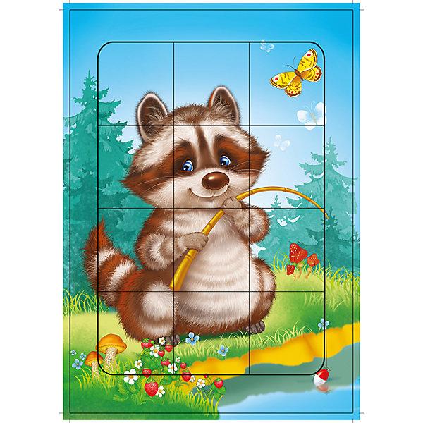 РР. ЕнотикПазлы для малышей<br>Характеристики:<br><br>• тип игрушки: настольная игра;<br>• комплектация: детали;<br>• возраст: от 3 лет;<br>• размер: 28,5x20х3 см;<br>• издатель: Дрофа;<br>• упаковка: картонная коробка;<br>• материал: картон.<br><br>Пазл Енотик в рамке разработана для детей от 3 лет. С разрезными картинками малыш научится подбирать подходящие по форме фрагменты рисунка и складывать их в целое изображение. Элементы мозаики выкладываются на рамку, которая поможет малышу видеть, что он делает правильно, а над чем ещё нужно подумать. Контуры деталей собираемой картинки, повторяющиеся на рамке, позволят не ошибиться в подборе правильного элемента, а картинка-подсказка поможет справиться с заданием самостоятельно.<br><br>Игры научат ребёнка усидчивости, умению доводить начатое дело до конца, помогут развить внимание, память, образное и логическое мышление, сенсорно-моторную координацию движения рук. Разная величина и форма собираемых элементов картинки способствуют развитию мелкой моторики, которая напрямую влияет на развитие речи и интеллектуальных способностей. В дальнейшем хорошая координация движений рук поможет ребёнку легко овладеть письмом.<br><br>Пазл Енотик в рамке можно купить в нашем интернет-магазине.<br>Ширина мм: 285; Глубина мм: 200; Высота мм: 3; Вес г: 120; Возраст от месяцев: 36; Возраст до месяцев: 2147483647; Пол: Унисекс; Возраст: Детский; SKU: 7323663;