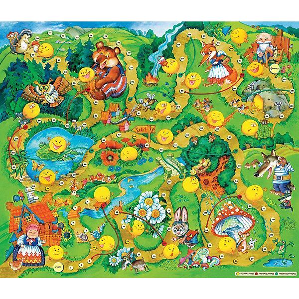 Дрофа-Медиа Настольная игра Приключения колобка