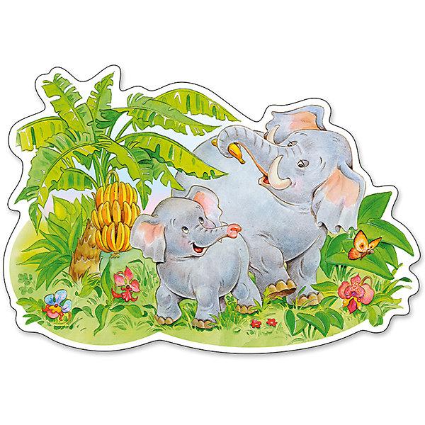 Пазл Castorland Maxi Слоники, 12 деталейПазлы для малышей<br>Характеристики товара:<br><br>• возраст: от 3 лет;<br>• пол: для девочек и мальчиков;<br>• вид: контурный пазл-мозайка;<br>• количество элементов: 12 шт.;<br>• материал пазла: картон;<br>• размер картинки: 47х32 см.;<br>• размер упаковки: 32х22х4,7 см.;<br>• вес: 400 гр.;<br>• упаковка: картонная коробка;<br>• страна изготовитель: Польша.<br><br>Макси - пазл выполнен в крупных размерах, поэтому прекрасно подходят даже для самых маленьких. <br><br>Собрав все 12 элементов в единую картину можно увидеть забавных слоников, играющих на жарком зеленом поле. <br><br>Такая игра хорошо развивает мелкую моторику рук, внимательность и усидчивость ребенка.<br><br>Пазл можно купить в нашем интернет-магазине.<br>Ширина мм: 320; Глубина мм: 220; Высота мм: 47; Вес г: 400; Возраст от месяцев: 36; Возраст до месяцев: 2147483647; Пол: Унисекс; Возраст: Детский; SKU: 7327784;
