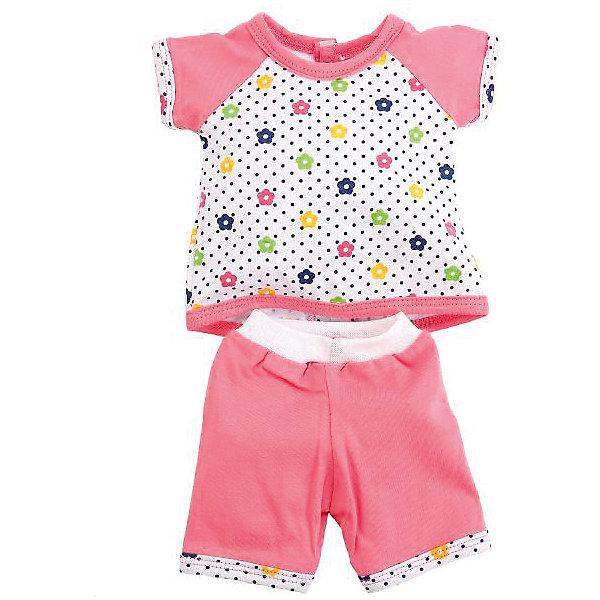 Карапуз Одежда для куклы Туника и бриджи, 40-42 см