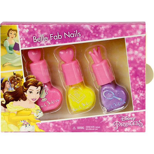 Markwins Princess Игровой набор детской декоративной косметики для ногтей кремы belkosmeks набор из 2х кремов для рук и ногтей защита и регенерация classic 165г