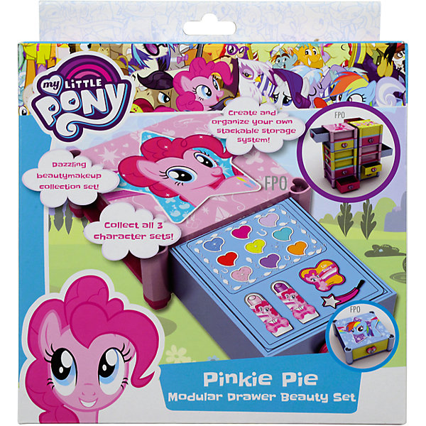 Markwins My Little Pony Игровой набор детской декоративной косметики для губ [sa] japan s new original authentic spot keyence sensor switch fs t0 2pcs lot