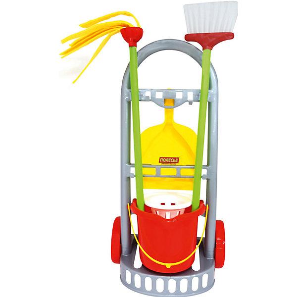 Polesie Набор для уборки Полесье Чистюля-мини, в коробке бытовая химия synergetic набор средств для уборки