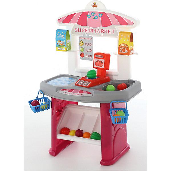 Полесье Игровой набор Полесье Мини-супермаркет, в коробке фартук natty розовый