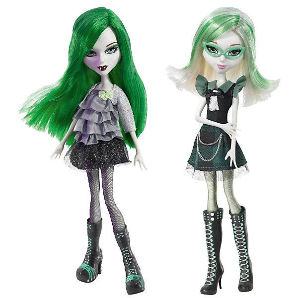 Кукла Playhut Mystixx Vampires. День и ночь Калани, 29 смКуклы модели<br>Характеристики товара:<br><br>• возраст: от 6 лет;<br>• материал: пластик, текстиль;<br>• в комплекте: кукла, аксессуары;<br>• высота куклы: 29 см;<br>• размер упаковки: 33х30х8 см;<br>• вес упаковки: 833 гр.;<br>• страна производитель: Китай.<br><br>Кукла Мистикс вампир Калани выглядит как настоящий вампир. У нее светлая бледная кожа, зеленые волосы, видны зубки вампира. Вместе с куклой предусмотрен дополнительный комплект одежды и парик для смены ее образа. Необычной особенностью куклы является ее возможность менять облик. Стоит только повернуть ее голову, как она тут же меняется в лице. У куклы подвижные ручки, ноги и голова. Выполнена из качественных безопасных материалов.<br><br>Куклу Мистикс вампир Калани можно приобрести в нашем интернет-магазине.<br>Ширина мм: 300; Глубина мм: 80; Высота мм: 330; Вес г: 833; Возраст от месяцев: 72; Возраст до месяцев: 120; Пол: Женский; Возраст: Детский; SKU: 7331965;