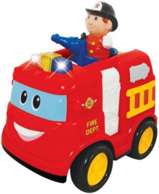 Интерактивная машинка Kiddieland  Пожарная машина , артикул:7331991 - Транспорт