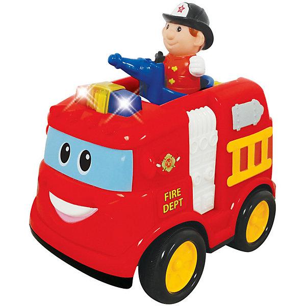 Kiddieland Интерактивная машинка Kiddieland Пожарная машина машины kiddieland забавный автомобильчик на р у