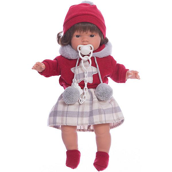 Llorens Кукла-пупс Llorens Лола в кофте и юбке, 38 см