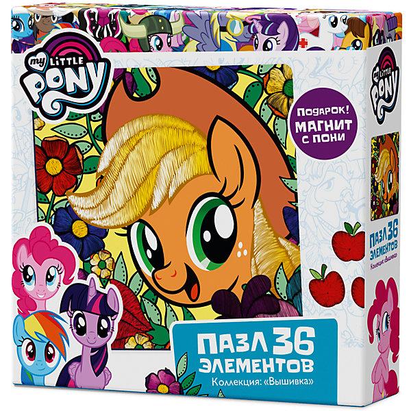 Пазл Origami My little pony 36 элементов + магнит ЭпплджекMy little Pony<br>Характеристики товара:<br><br>• возраст: от 3 лет;<br>• пол: для девочек;<br>• герой: мои маленькие пони;<br>• комплект: 36 карточек с пазловым замком, фигурка, подставка, магнит;<br>• количество элементов: 36 шт.;<br>• материал пазла: картон, бумага;<br>• размер упаковки: 15х15х4,5 см.;<br>• вес: 130 гр.;<br>• упаковка: картонная коробка;<br>• страна обладатель бренда: Россия.<br><br>Из элементов пазла предлагается собрать яркую, красочную картинку с изображением.<br><br>Маленькие пони приглашают вас отправиться в цветочное путешествие вместе с ними! Просто ли освоить искусство волшебства? <br><br>Элементы пазла сделаны из высококачественного картона с отличной полиграфией. <br><br>В набор включен подарок - магнит.<br><br>Пазл можно купить в нашем интернет-магазине.<br>Ширина мм: 150; Глубина мм: 150; Высота мм: 45; Вес г: 130; Возраст от месяцев: 36; Возраст до месяцев: 2147483647; Пол: Унисекс; Возраст: Детский; SKU: 7335551;