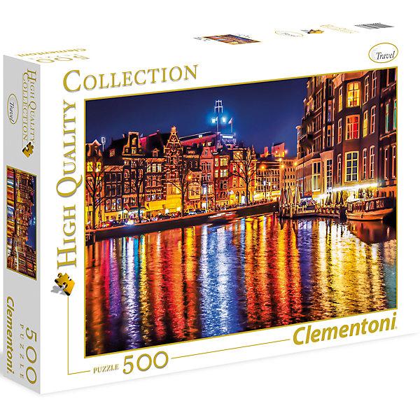 Clementoni Пазл Clementoni Амстердам, 500 элементов clementoni пазл hq вороной конь в море 500