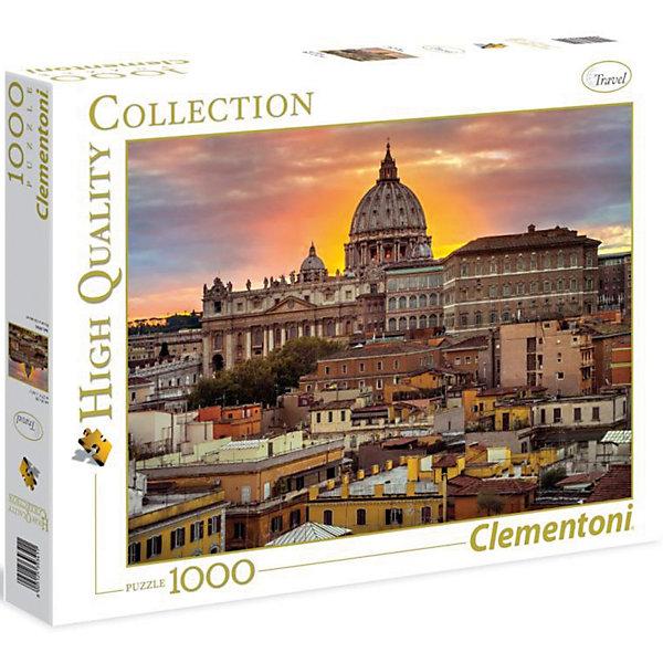 Clementoni Пазл Clementoni Вечерний Рим, 1000 элементов clementoni пазл hq древняя карта мира 1000