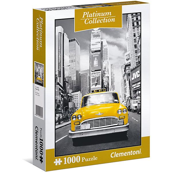 Фото - Clementoni Пазл Clementoni Платиновая коллекция Нью-Йорк, 1000 элементов konigspuzzle пазл masterpuzzle осенний нью йорк 500 элементов