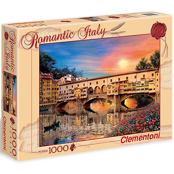 Купить Пазл Clementoni Флоренция , 1500 элементов, Италия, Унисекс