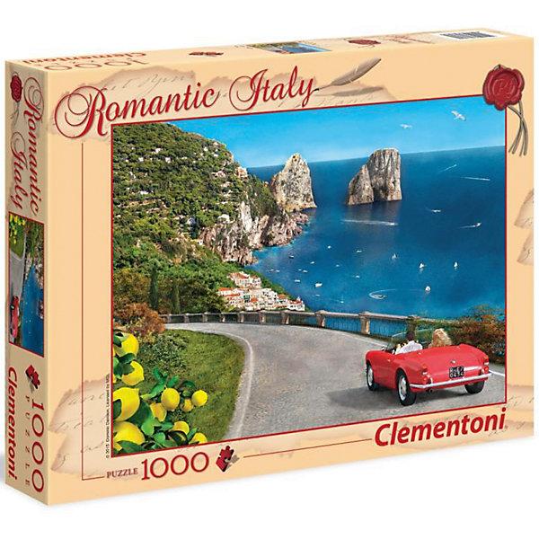 Clementoni Пазл Clementoni Капри, 1500 элементов clementoni пазл hq пизанская башня 1500