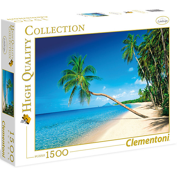 Clementoni Пазл Clementoni Карибские острова, 1500 элементов clementoni пазл hq пизанская башня 1500