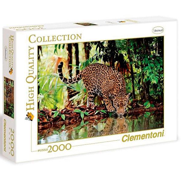 Clementoni Пазл Clementoni Леопард, 2000 элементов clementoni пазл hq лондон красная телефонная будка 500