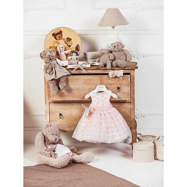 Нарядное платье Les Gamins для девочкиОдежда<br>Характеристики товара:<br><br>• цвет: белый;<br>• состав: 55% полиэстер, 45% вискоза;<br>• подкладка: 100% хлопок;<br>• сезон: круглый год;<br>• застежка: молния на спинке;<br>• платье без рукавов;<br>• в комплекте: болеро и повязка;<br>• съемный цветок на поясе;<br>• страна бренда: Италия;<br>• страна изготовитель: Китай.<br><br>Нарядное платье Les Gamins для девочки. Это платье можно носить в любое время и по любому поводу. Если отстегнуть цветок от пояса, то можно пойти в гости, а если добавить болеро и повязку, которые входят в комплект с таким же цветком, как на поясе, то это платье подойдёт для бала. Платье на хлопковой подкладке, застегивается сзади на молнию.<br><br>Нарядное платье Les Gamins для девочки можно купить в нашем интернет-магазине.<br>Ширина мм: 236; Глубина мм: 16; Высота мм: 184; Вес г: 177; Цвет: белый; Возраст от месяцев: 12; Возраст до месяцев: 15; Пол: Женский; Возраст: Детский; Размер: 80,92,86; SKU: 7336874;