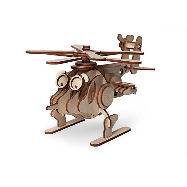 Сборная деревянная модель Lemmo Вертолет Серж, подвижнаяДеревянные модели<br>Характеристики:<br><br>• тип игрушки: конструктор<br>• возраст: от 5 лет;<br>• количество деталей: 51 шт;<br>• комплектация: наждачная бумага, подробная инструкция, клей ПВА;<br>• размер: 21,5x14,5х3,5 см;<br>• вес: 200 гр;<br>• бренд: Lemmo;<br>• материал: дерево.<br><br>Конструктор 3D подвижный Lemmo «Вертолет Серж» - великолепная модель для склейки и сборки. Собирать ее легко и интересно, так как мелких элементов в нем мало, и общее количество деталей невелико, поэтому такой конструктор вполне подойдет для новичков.  У собранной модели вращаются два основных винта и хвостовой винт.<br><br>Экологически чистые, развивающие конструкторы от российского производителя «Lemmo» помогут вашему ребенку развить мелкую моторику рук, воображение, пространственное мышление, логику и предметное моделирование.<br><br>Все детали выполнены из качественной древесины и имеют сильный насыщенный запах дерева. Наборы укомплектованы клеем ПВА и наждачной бумагой. Любой конструктор после сборки можно раскрасить акриловыми и гуашевыми красками, но даже без этого в результате получается полноценная красивая игрушка с подвижными элементами.<br><br>Конструктор 3D подвижный Lemmo «Вертолет Серж» можно купить в нашем интернет-магазине.<br>Ширина мм: 215; Глубина мм: 145; Высота мм: 35; Вес г: 200; Возраст от месяцев: 60; Возраст до месяцев: 2147483647; Пол: Унисекс; Возраст: Детский; SKU: 7338223;