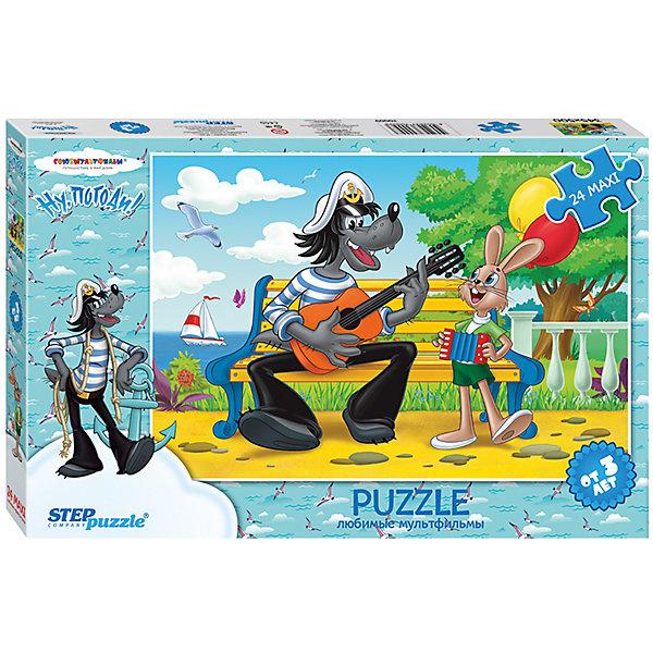 "Фотография товара пазл Maxi Step Puzzle ""Ну, погоди!"", 24 элемента (7338300)"