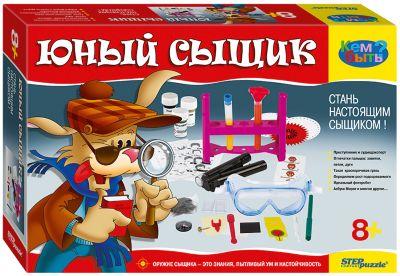 Набор для опытов Step Puzzle Домашняя лаборатория  Юный сыщик , артикул:7338348 - Фокусы и розыгрыши
