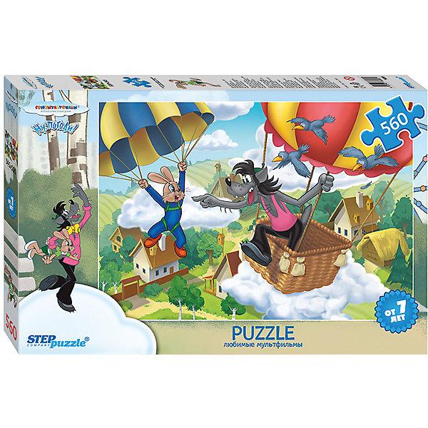 Степ Пазл Пазл Step Puzzle Ну, погоди!-2, 560 элементов step puzzle кубики ну погоди