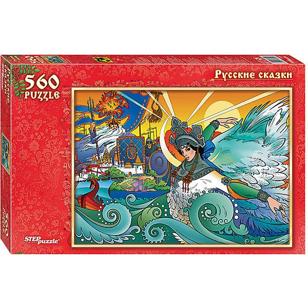Пазл Step Puzzle Царевна Лебедь, 560 элементовПазлы классические<br>Характеристики товара:<br><br>• возраст: от 7 лет;<br>• количество деталей: 560;<br>• размер собранной картины: 50х34,5 см.;<br>• материал: картон;<br>• размер упаковки: 33x22x4 см.;<br>• упаковка: картонная каробка;<br>• бренд, страна производства: STEP puzzle, Россия.<br>                                                                                                                                                                                                                                                                                                                       <br>Пазл «Царевна Лебедь», состоящий из 560 элементов, придется по душе всей вашей семье. Собрав этот пазл, вы получите чудесную картинку с изображением главного персонажа знаменитой одноименной сказки А.С. Пушкина.<br><br>Пазл выполнен из высококачественных материалов, что обеспечивает идеальное прилегание элементов друг к другу. Готовую картину можно склеить, вставить в рамку и повесить на стену.<br><br>Собирание пазлов это не только интересно, но и полезно: ведь в процессе создания картинки развивается мелкая моторика, тренируются наблюдательность и логическое мышление.<br><br>Пазл «Царевна Лебедь», 560 деталей можно купить в нашем интернет-магазине.<br>Ширина мм: 330; Глубина мм: 215; Высота мм: 39; Вес г: 350; Возраст от месяцев: 84; Возраст до месяцев: 2147483647; Пол: Унисекс; Возраст: Детский; SKU: 7338356;