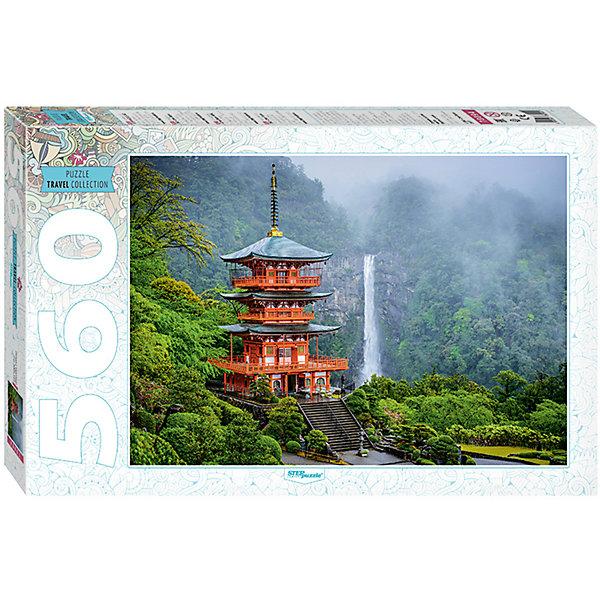 Степ Пазл Пазл Step Puzzle Пагода у водопада, 560 элементов степ пазл пазл step puzzle винни пух 560 элементов