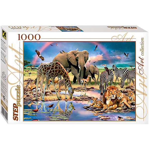 Степ Пазл Пазл Step Puzzle Саванна, 1000 элементов пазл 1000 piece jigsaw puzzle 1000 12 1000 cf dnf 1000 70 50cm