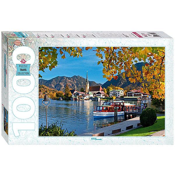 Степ Пазл Пазл Step Puzzle Бавария. Озеро Тегернзее, 1000 элементов пазл ravensburger озеро эйб 1000 элементов