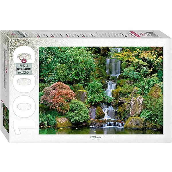 Степ Пазл Пазл Step Puzzle Водопад в японском саду, 1000 элементов пазл step puzzle водопад 1500 элементов 83004