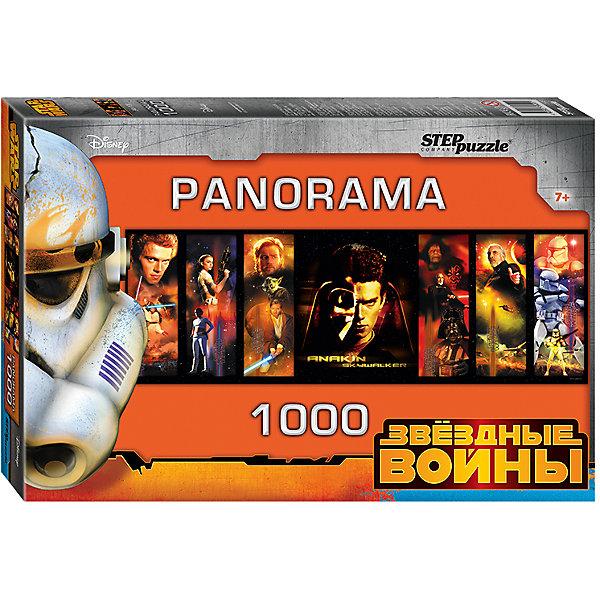 Степ Пазл Панорамный пазл Step Puzzle Звездные войны, 1000 элементов пазл пагода step puzzle 1000 деталей