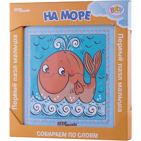 Купить Многослойный пазл Step Puzzle Baby Step На море , Степ Пазл, Россия, Унисекс