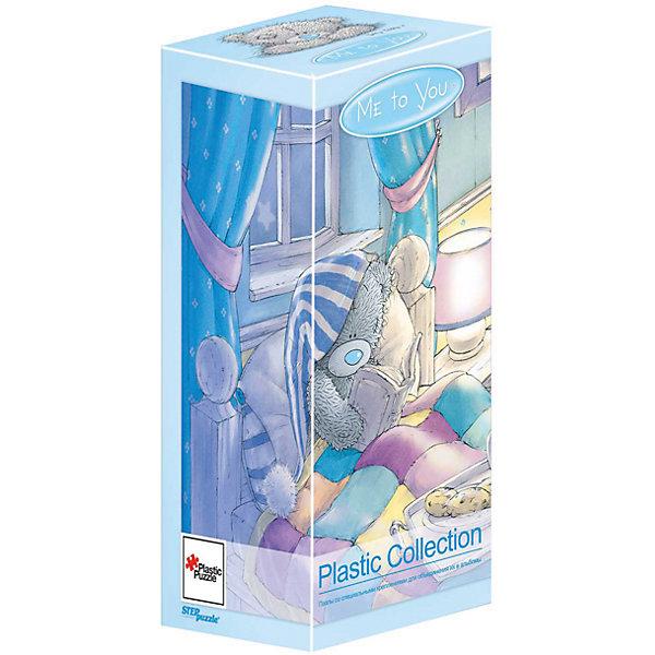 Пазл Step Puzzle Me to You, 300 элементовПазлы классические<br>Характеристики товара:<br><br>• возраст: от 7 лет;<br>• количество деталей: 300;<br>• размер собранной картины: 31х24 см.;<br>• материал: пластмасса;<br>• размер упаковки: 24x10x10 см.;<br>• упаковка: картонная каробка;<br>• бренд, страна производства: STEP puzzle, Россия.<br>                                                                                                                                                                                                                                                                                                                       <br>Пазл пластиковый «Me to You», состоящий из 300 элементов, придется по душе всей вашей семье. Собрав этот пазл, вы получите яркую, прочную картинку с изображением знаменитых мишей Тедди.<br><br>В компллект входят специальные соединительные петли, что позволяет хранить собранные пазлы как альбом. Готовый пазл удобно использовать как коврик для мышки, подставку под холодные блюда и просто как украшение интерьера.<br><br>Собирание пазлов это не только интересно, но и полезно: ведь в процессе создания картинки развивается мелкая моторика, тренируются наблюдательность и логическое мышление.<br><br>Пазл пластиковый «Me to You», 300 деталей можно купить в нашем интернет-магазине.<br>Ширина мм: 240; Глубина мм: 100; Высота мм: 100; Вес г: 400; Возраст от месяцев: 72; Возраст до месяцев: 2147483647; Пол: Унисекс; Возраст: Детский; SKU: 7338465;