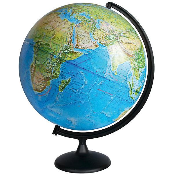 Глобус Земли физическийГлобусы<br>Характеристики товара:<br><br>• возраст: от 6 лет;<br>• материал: пластик;<br>• диаметр: 42 см;<br>• размер упаковки: 42х44х44 см;<br>• вес упаковки: 1,7 кг;<br>• страна производитель: Россия.<br><br>Глобус Земли физический — отличное пособие для изучения географии как для школьников, так и для студентов. Он позволит познакомиться с нашей планетой. Глобус — физический, на нем нанесены материки, моря, рельеф суши и морского дна, растительный покров, холодные и теплые течения, крупные населенные пункты. <br><br>Глобус Земли физический можно приобрести в нашем интернет-магазине.<br>Ширина мм: 420; Глубина мм: 440; Высота мм: 440; Вес г: 1700; Возраст от месяцев: 72; Возраст до месяцев: 2147483647; Пол: Унисекс; Возраст: Детский; SKU: 7340370;